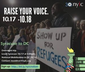 #NoMuslimBanEver: NYIC Mobilization to D.C.