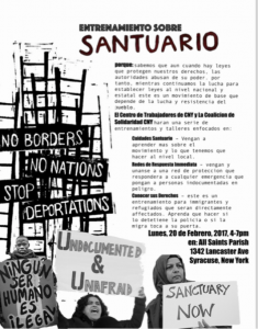 Sanctuary and Immigrant Rights Resources